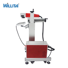 20w 30w 50w Mini Metal Optical Fiber Wire Engraving Color Laser Marking Machine for Sale