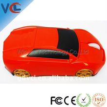 Red racing car mouse with charming design