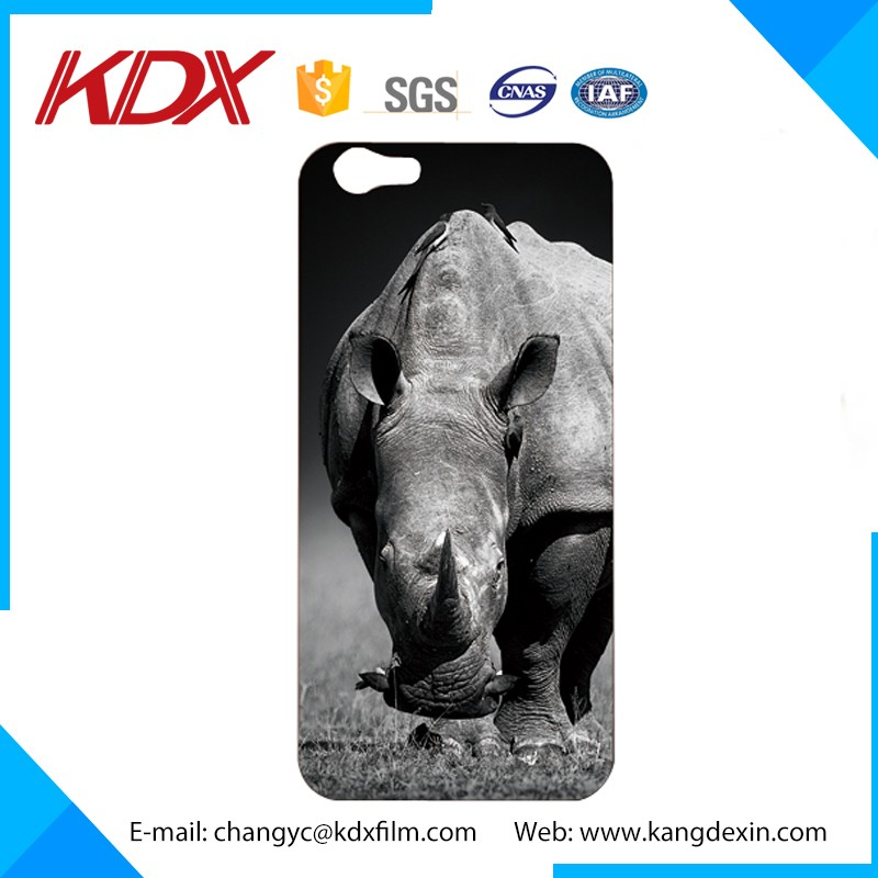 Free Sample 3D Phone Case For Iphone Samsung 3D Lenticular Printing With PET/APET