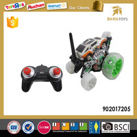 Top Sale RC Amphibious Toy Stunt Car With Colorful Light