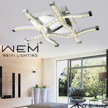 Best Quality Factory Direct Sale Modern LED K9 Crystal Ceiling Light for House Decor