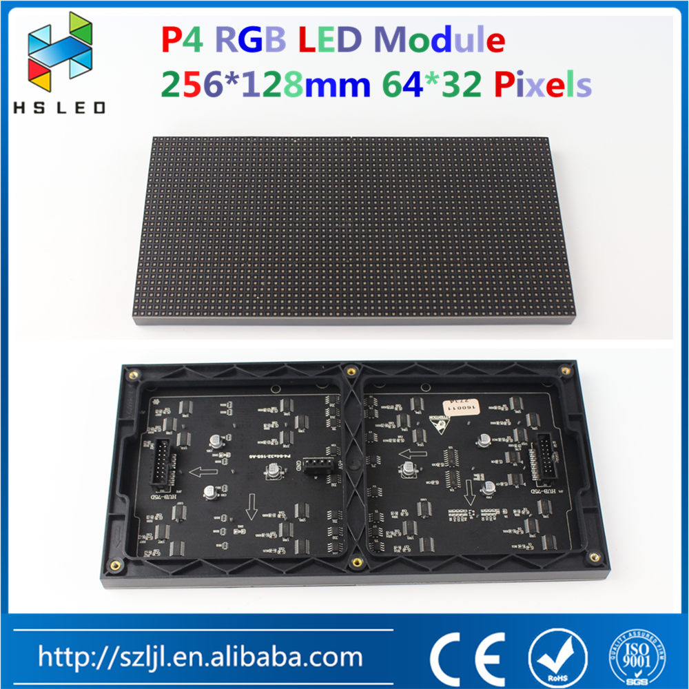 Best price P4/P5/P6 RGB LED display module led panel led cabinet/screen