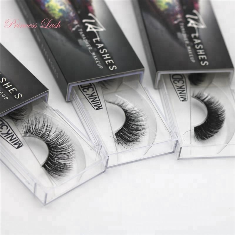 hot selling products amazon <strong>natural</strong> looking false eyelashes , 3d mink lashes , with custom logo paper sleeve