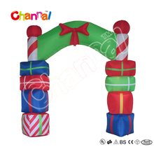 240cm High Inflatable Arch with Gift Bags for Christmas Decoration