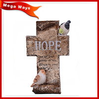 customized fashion decorative resin cross craft for sale