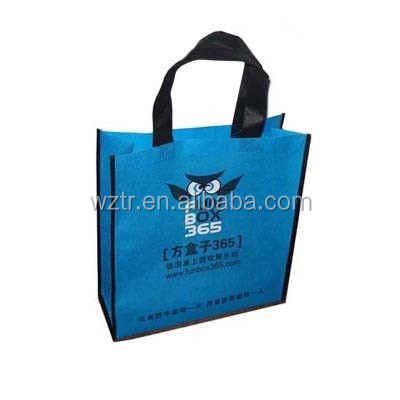 2015 reusable vietnam new pp /non woven shopping/promotion/gift flat bags