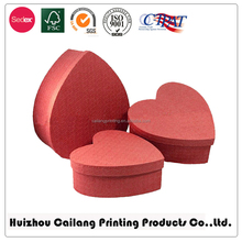 heart paper box in Art Paper Offer Printing Design Custom Unfolding Paper Gift Packaging Box heart shape customized sweet