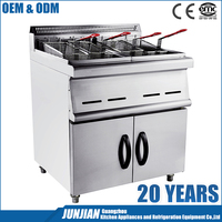 Gas Deep Fryer ( 2-Tank / 4-Basket ) potato gas deep fryer gas chips fryer