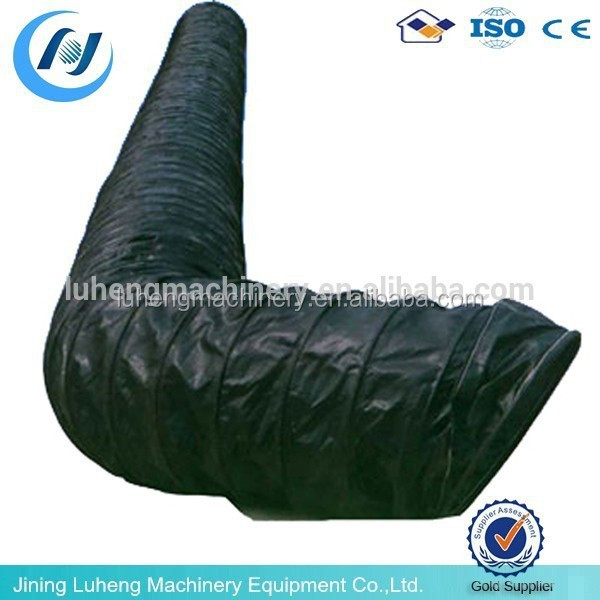 waterproof and conduction tunnel ventilation flexible duct, heat resistant and fire rated ventilation flexible duct