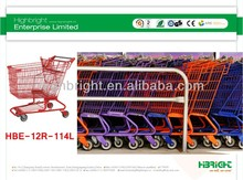 supermarket shopping trolley manufacturer
