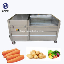 The automatic cut into slice cube shared machine cucumber production Brush cleaning washing price luggage component