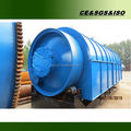 High capacity used tyre recycling pyrolysis plant for diesel
