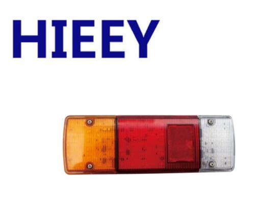 High Quality Factory Rectangle Vehicle LED Rear Tail Lights For Truck Trailer Marine With E-Mark