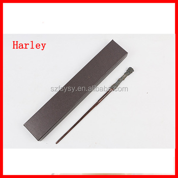Factory Wholesale Steel Core Wands With a Plain Brown Or Black Box Harry Potter Style Wand