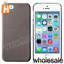 HOCO Fashionable Flash Ring Series Leather Coated Hard Back Cover Case for iPhone 5 5S
