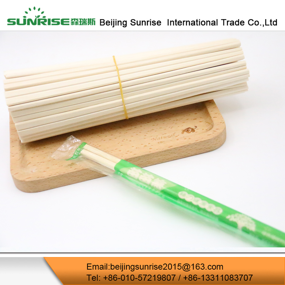 Restaurant Bulk Disposable Washable Birch Wood Chopsticks