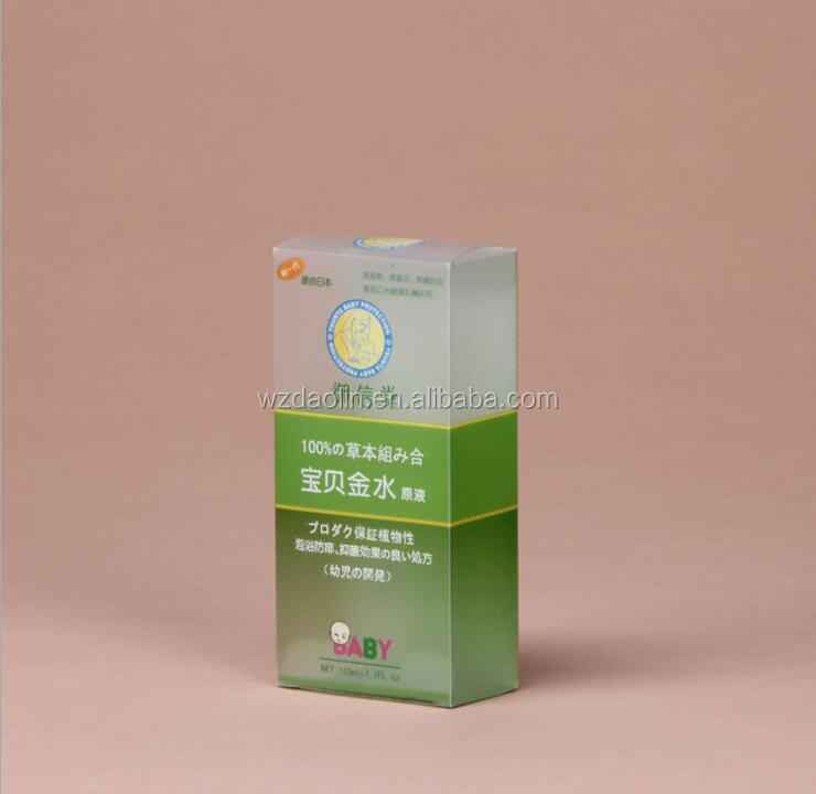 Hot Sale High Quality UV Printing Clear Package PP Plastic Box