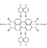 1,6,7,1 2- tetra -t- butylphenoxy - N - N' - bis(octadecyl) - perylene - 3,4,9,10 - tetracarboxylic dianhydride