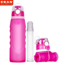 Promotion Christmas Gift 1000 Ml OEM Accept Durable Silicone Filter Water Bottle