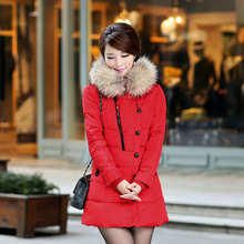 WA10034 2016 New Fashion Winter Women Down Cotton Jacket Slim Short Coat Jacket Made In China