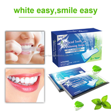 Professional customized crest white strips teeth whitening gel strips