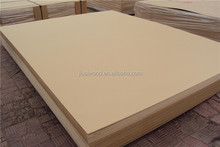 Low price waterproof melamine MDF board for furniture raw MDF board