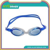 swimming goggles with diopter ,H0T129 china adult swim goggles