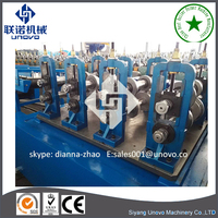 without welding spot door frame roll forming machine [Siyang Unovo] pallet rack frame