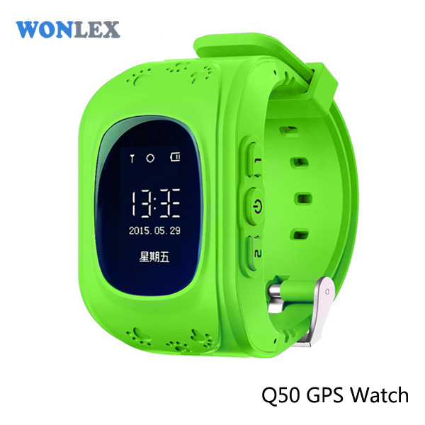 2016 Factory Wholesale Wonlex OLED Display Mini Personal Keychain Smallest Smart Kids GPS digital multimedia mobile watch