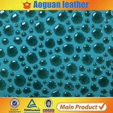 Hot sale Anti-Mildew elastic synthetic pu leather for shoes/handbag/car seat/sofa