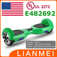 UL2272 Approved Electric Balance Scooter, Two Wheels two wheel smart balance electric scooter, wholesale hoverboard UL2272