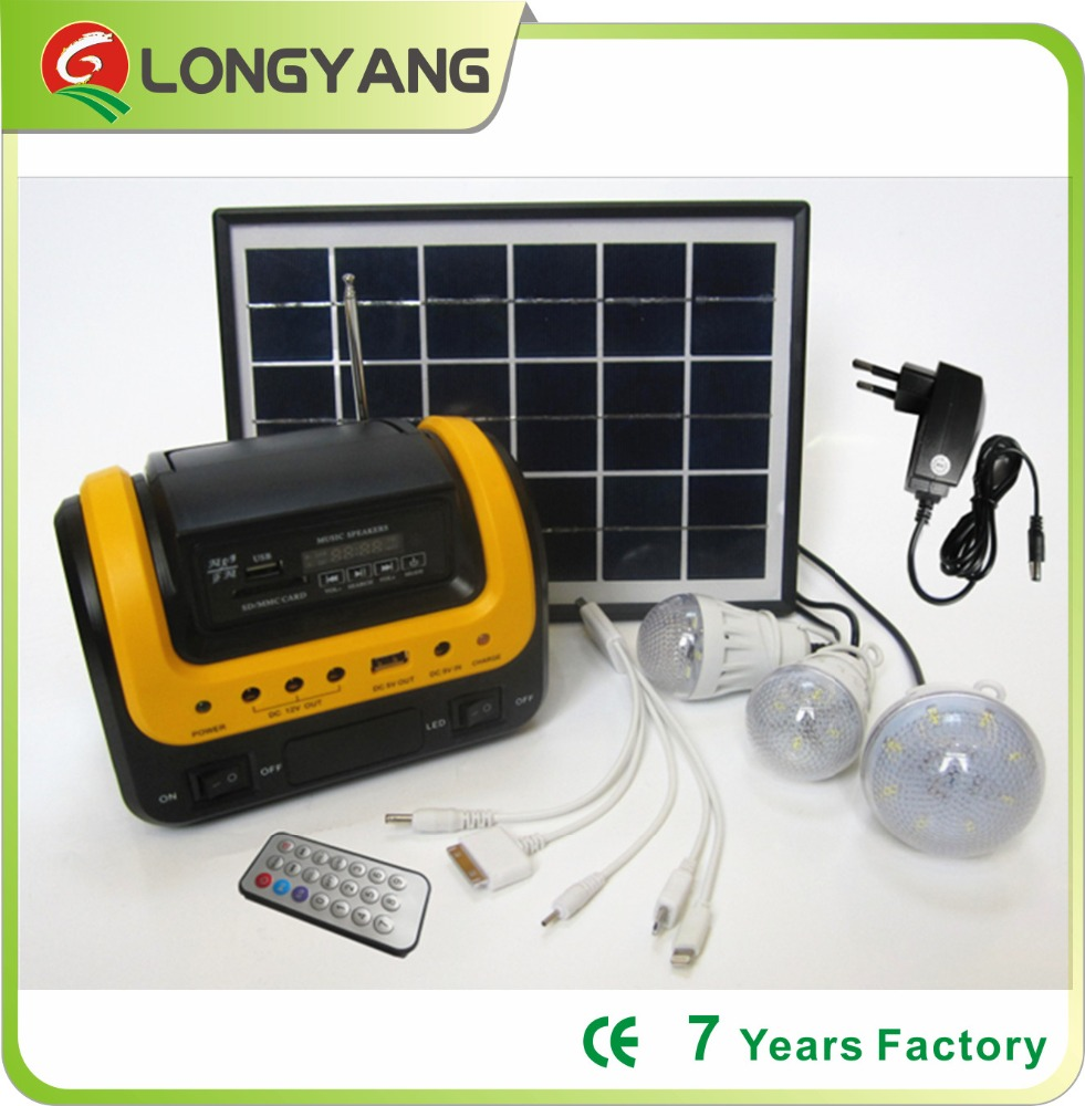 solar energy lamp kit product trustworthy factory in China