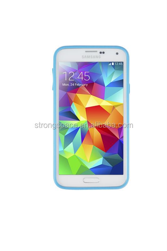 Mobile phone case for samsung galaxy s5 with high quality tpu and pc from China