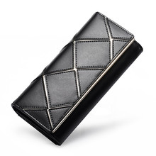 Wholesale Genuine Leather card holder multiple wallet with Many cards slot