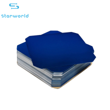 3.4 watt PV module 5 inch pure dark blue sunpower solar cell back contact flexible solar cell