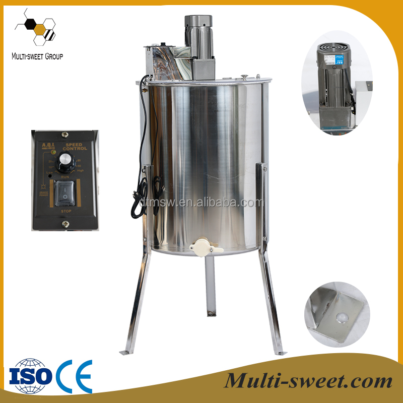 Multi-Sweet supply honey processing machine manual honey centrifuge, electric motor honey extractor used for honey extraction