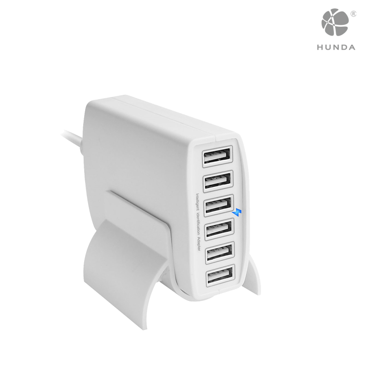 Perfect Android & IOS mobile phone Japan 60W 6 port multi USB Charger