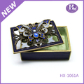 HX-1061 Promotional professional Printed Plastic decorative acrylic jewelry display case