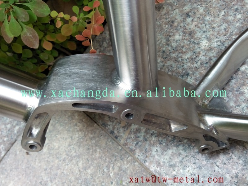 hot sale titanium fat bike frame Ti fat bike frames custom fat bike frame