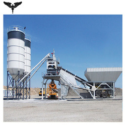 Wet Mix Mobile Concrete Batching Plant for sale made in China