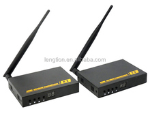 Wireless HD Video transmission extender system sender and receiver 200M with Local HDMI Loopout Support 1 sender to 2 receivers