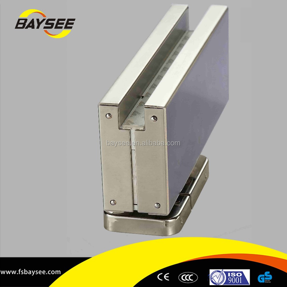 Security product glass fitting hardware aluminum patch fitting