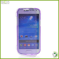 SOFT GEL TPU SILICONE POUCH CASE COVER FOR SAMSUNG GALAXY S4 MINI I9190 PURPLE
