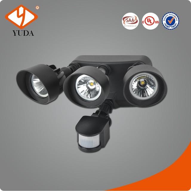 Black Bronze White AC100-240V 3 Years Warranty Motion Sensor Hallway Light
