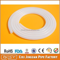 Hot Sale!! China Manufacturer FDA ROHS Approve Water Clear Silicone Tube, Clear Silicone Tubing Flexible, Clear Food Grade Tube