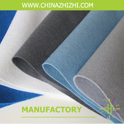 Factory price 100% polyester nonwoven felt for handicraft or Ghristmas gift from chinese supplier 2017