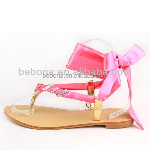 Model baru sandal wanita berubah pita musim panas sandal ...