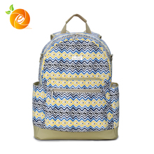 2017 New Arrival Cheap Wholesale Canvas Tote Diaper Baby Bag