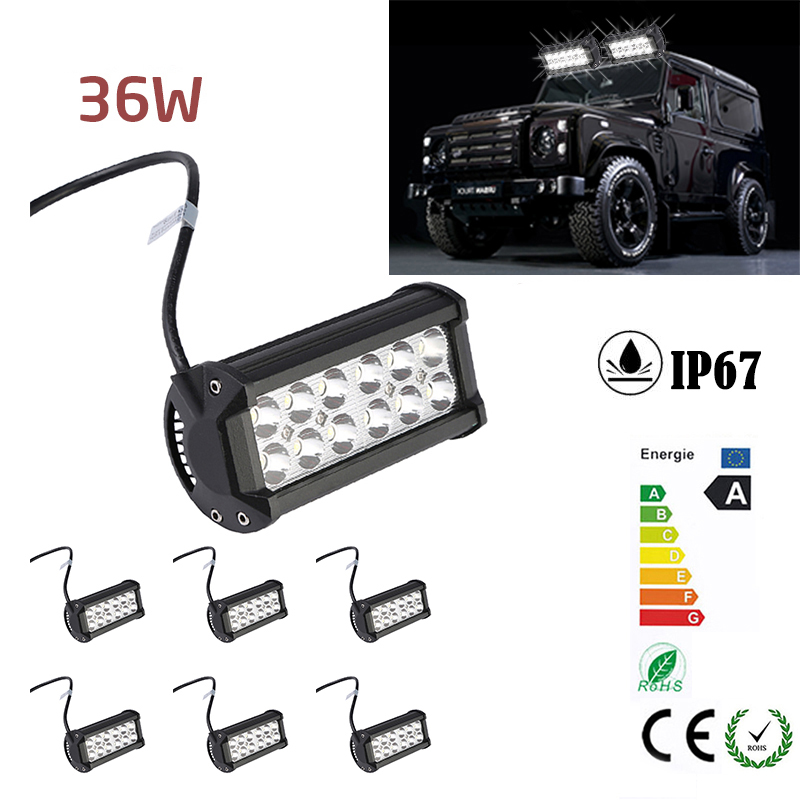 36W LED Super Bright Working Lamp For Off-road Truck Car