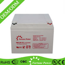 12V 24AH Rechargeable Storage Gel Battery For Standby Power Supply